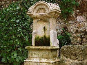 La Fontaine du Square rue Basse