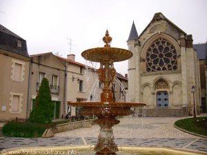 La Fontaine Place Jeanne d'Arc