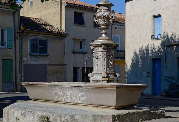 La Fontaine Place du Cours