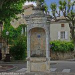 La Fontaine dite de Châles