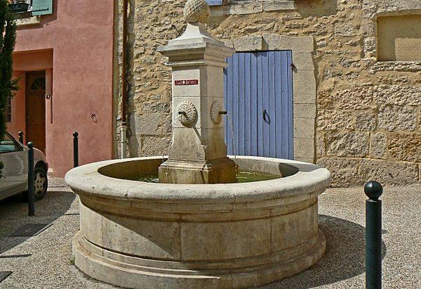 La Fontaine rue de la République