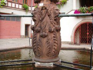 La Fontaine de l'Homme Sauvage