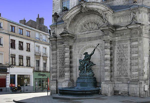 La Fontaine du Pont de Cité