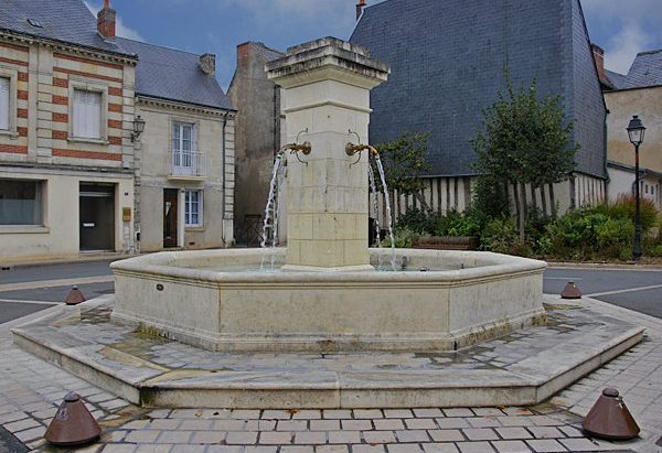 La Fontaine Place des Anciens Combattants d'AFN