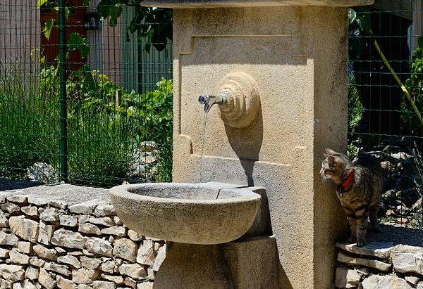 La Fontaine du Jardin des Senteurs