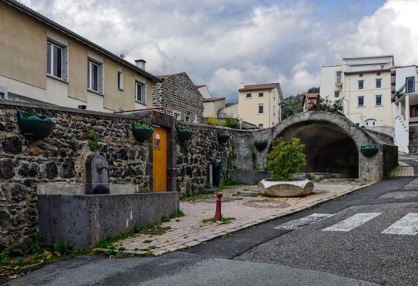 La Fontaine et le Lavoir rue Nestor Perret