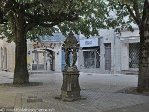 La Fontaine Place Saint-Silain