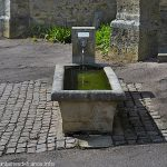 La Fontaine du chevet de l'Eglise