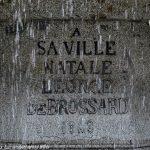 Plaque commémorative de la ville