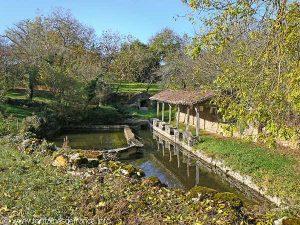 La Fontaine et le Lavoir Papillon