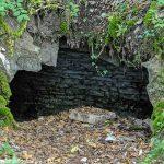 Entrée de la cave