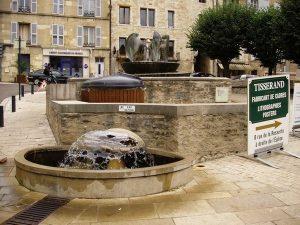 La Fontaine Place de l'Eglise St-Georges