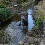 Petite fontaine dans le cour d'eau