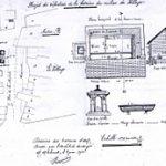 Plan du projet de 1928 conservé aux archives départementales