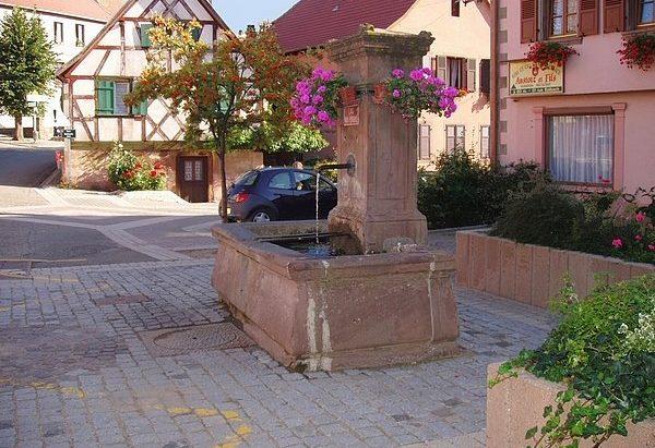 Fontaine rue Neuve ou Becksbeckele