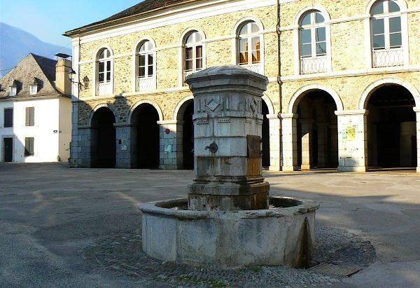 La Fontaine Place François Saraille