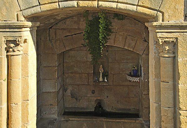 La Fontaine Notre-Dame de Capelou