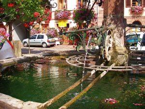 La Fontaine Place du Dr.Walter