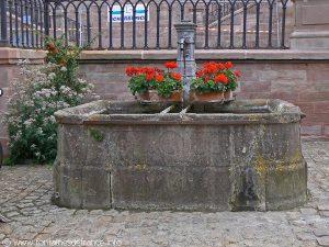La Fontaine rue du Maire Witzig