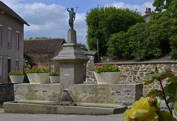 Fontaine de Dévotion St-Jean-Baptiste