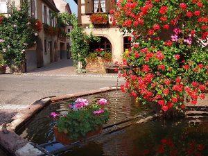 La Fontaine Place de la Metzig
