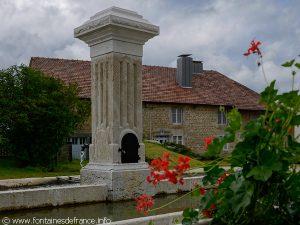 La Fontaine rue Monclar