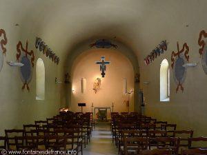 Intérieur de la Chapelle primitive