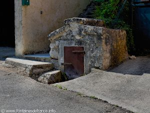 Seconde Fontaine rue des Granges