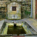 La Fontaine et le Lavoir de Bombareau