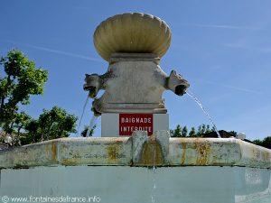 La Fontaine Place du Champ-de-Mars