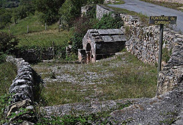 La Fontaine Romane de Cayssac