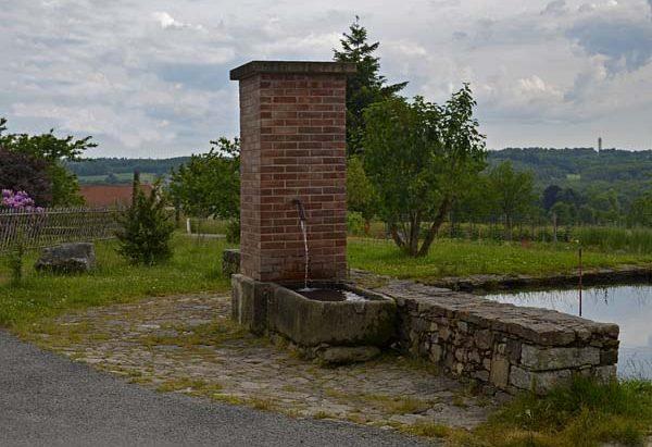 La Fontaine et le Lavoir de Bournazeau