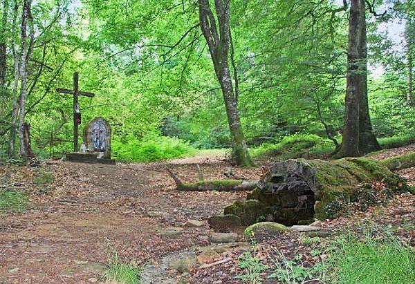Fontaine du Rieu Tari ou Font St-Fiacre