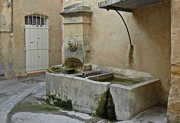 La Fontaine rue Henri Sarret