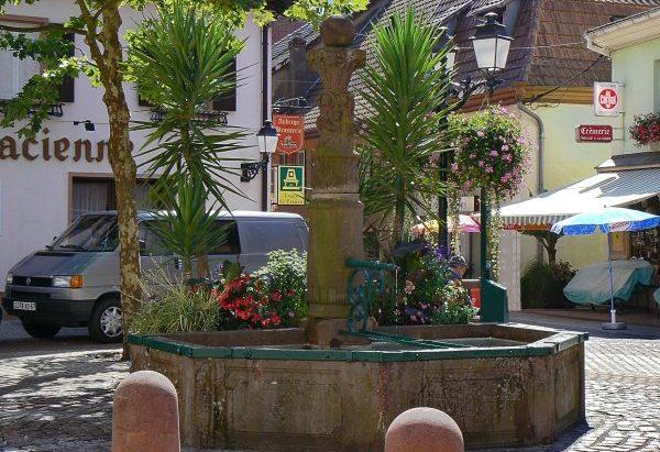 La Fontaine rue de Houpach