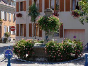 La Fontaine Place des Commandos