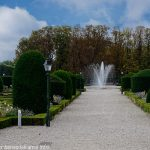 Le Jet d'eau du Jardin de l'Evêché