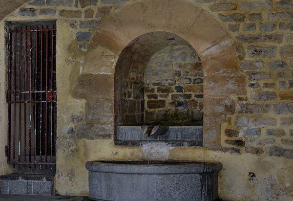 La Fontaine rue Ambroise Croizat