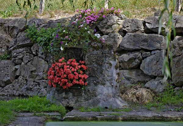La Fontaine et le Lavoir de Brethenoux