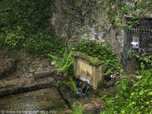 La Fontaine de la Grotte de Malvaux