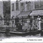 La Fontaine début du XXème siècle