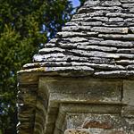 vue d'un angle de la toiture
