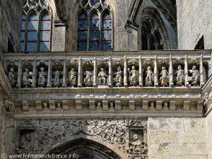 Décoration de la façade sud du chœur