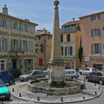 La Fontaine Place des Héros et Martyrs