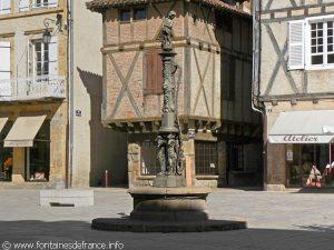 La Fontaine Place du Mercadial