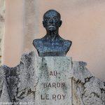 Le Buste du Baron Le Roy