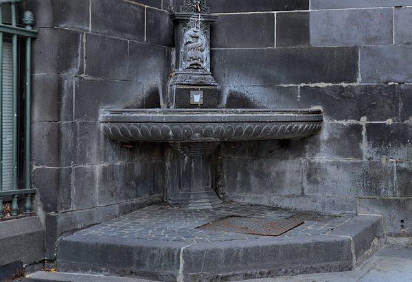 Les Fontaine de l'Hôtel de Ville