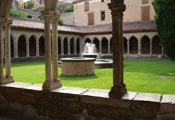 La Fontaine de l'Abbaye Saint-Hilaire