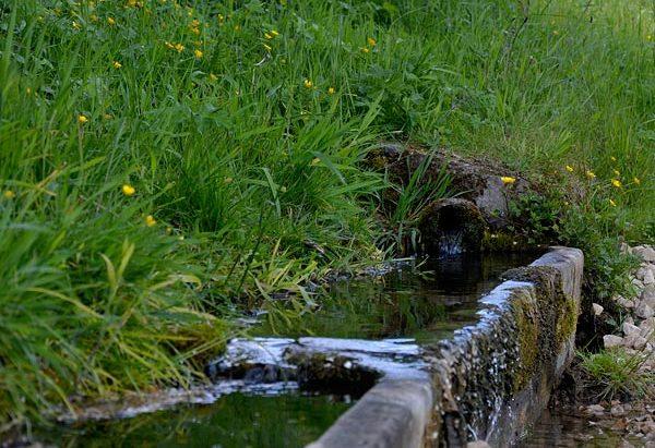La Fontaine de Fontenelle et le Lavoir