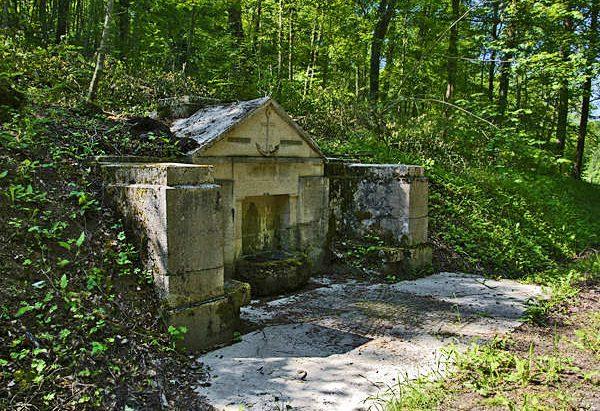 La Fontaine Pionier-Brunnen